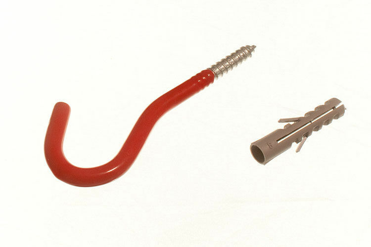 New Red Wall Hook Elephant Utility Tool Storage Hook