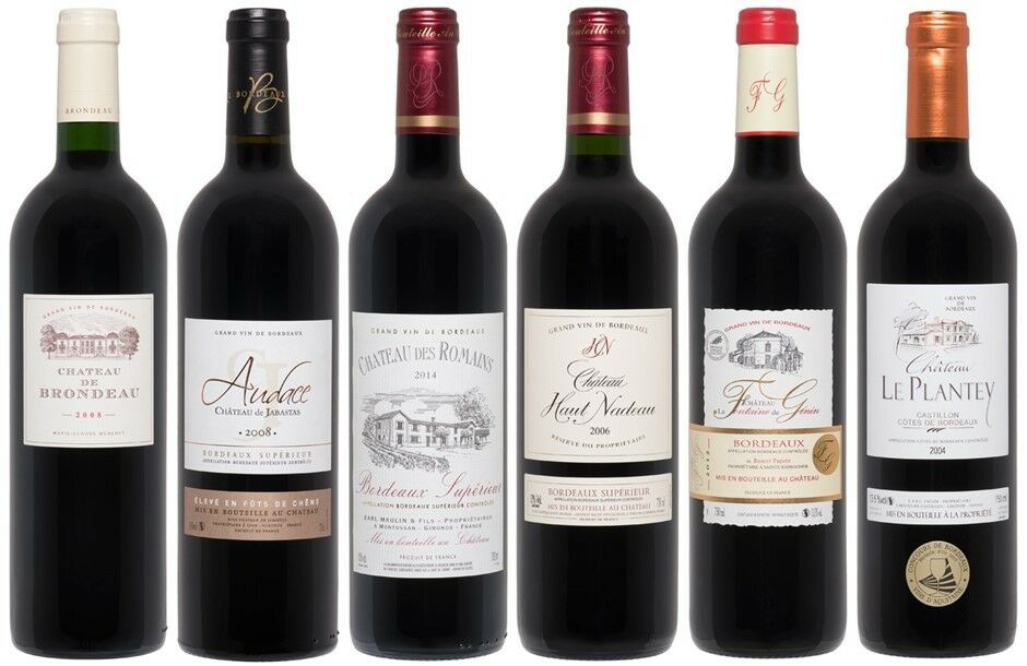 Maison Riviere Bordeaux Mixed Pack (6 x 750mL), France.