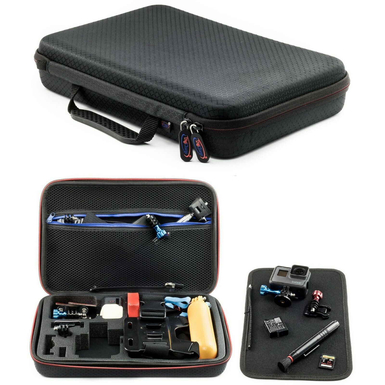 Carry Travel Case For Xiaomi Yi 4k Wifi 2 Ii Action Camera Large Size Cam 1 Of 7free Shipping See More