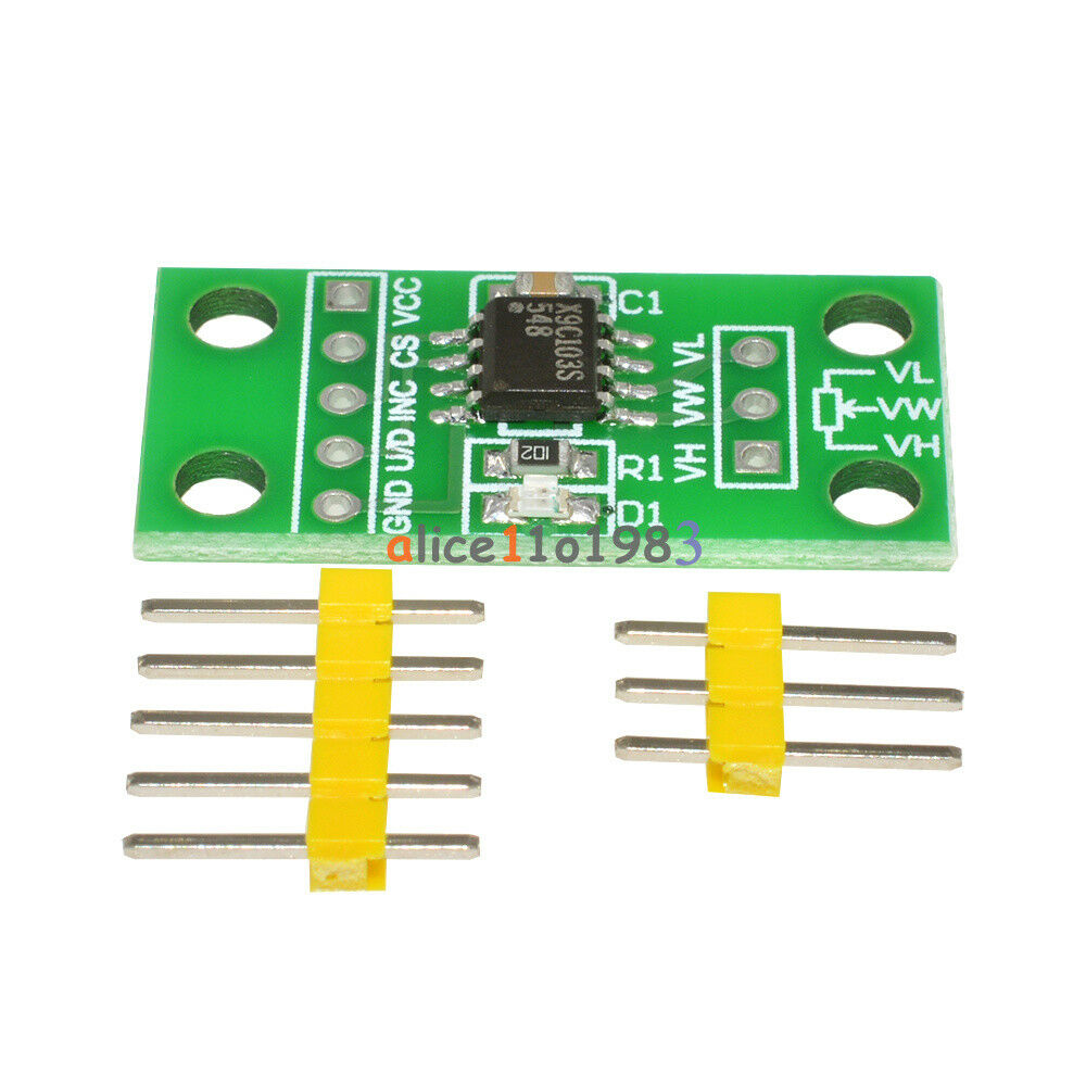 X9c103s Digital Potentiometer Board Module For Arduino Dc3v 5v Shop Eaton 20circuit 10space 100amp Main Breaker Load Center Value 1 Of 10 See More