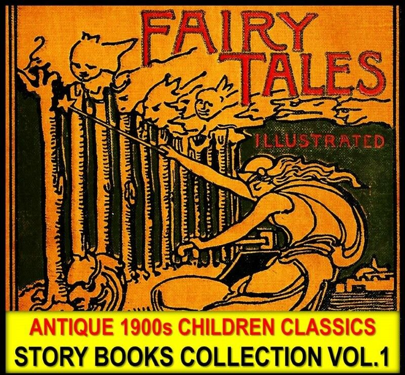 Antique Children Clics Story Ebooks Collection Dvd 1 Old Nursery Rhymes Pdf Of 12only 4 Available See More