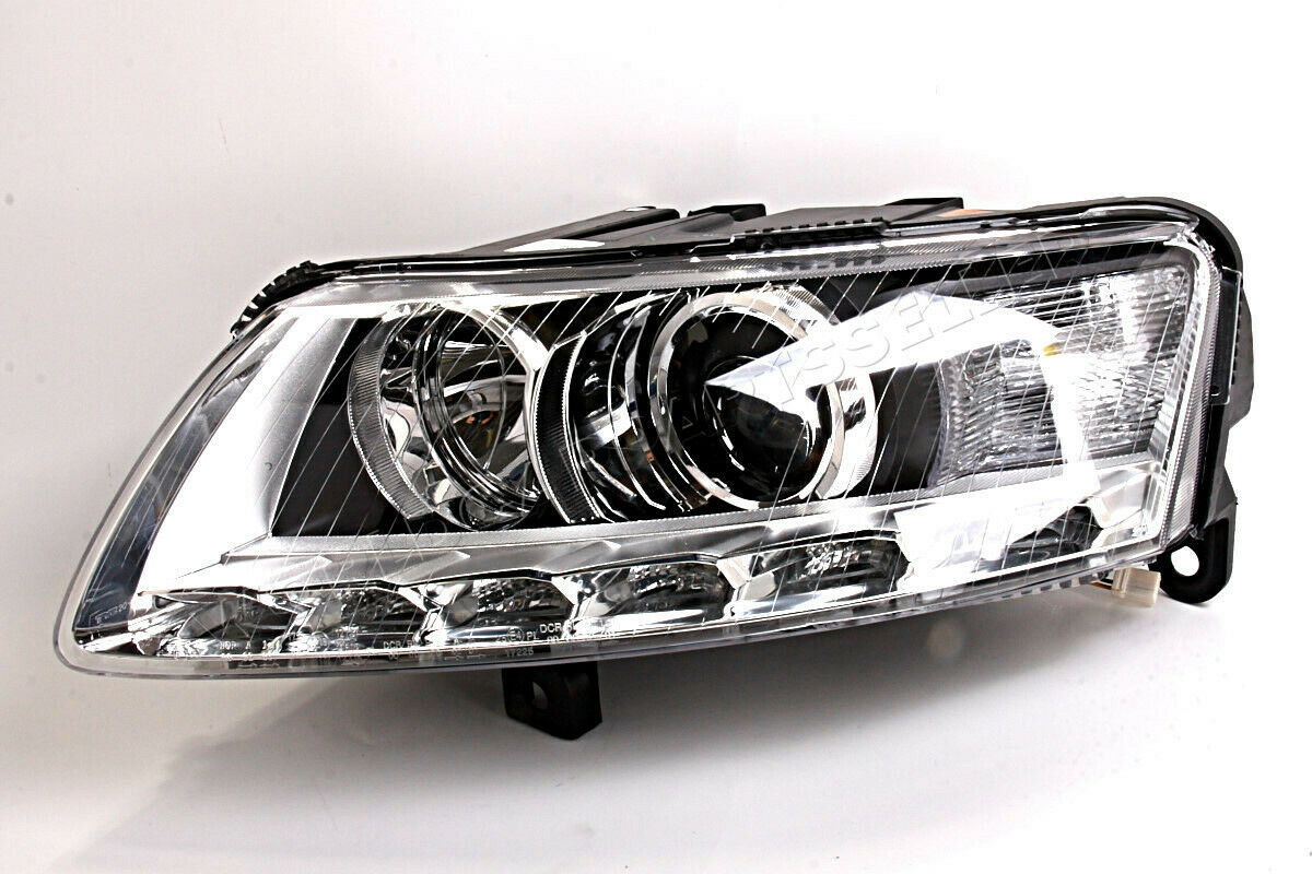 Xenon Headlight Front Lamp Fits Left Audi A6 Avant C6 4f Rs6 S6 Wiring Harness 1 Of See More