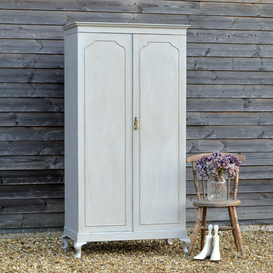 Beautiful Vintage Wardrobe * Armoire ~ Faded French Chic ~ Painted Country Style
