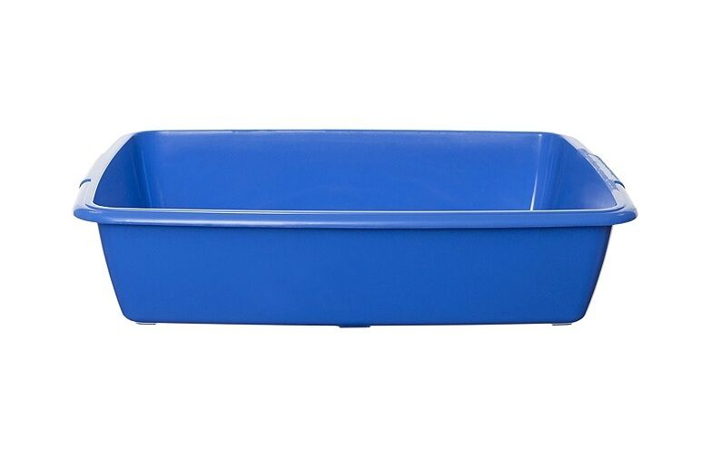 396937-BLUE Whitefurze 42cm Cat Litter Tray P0301