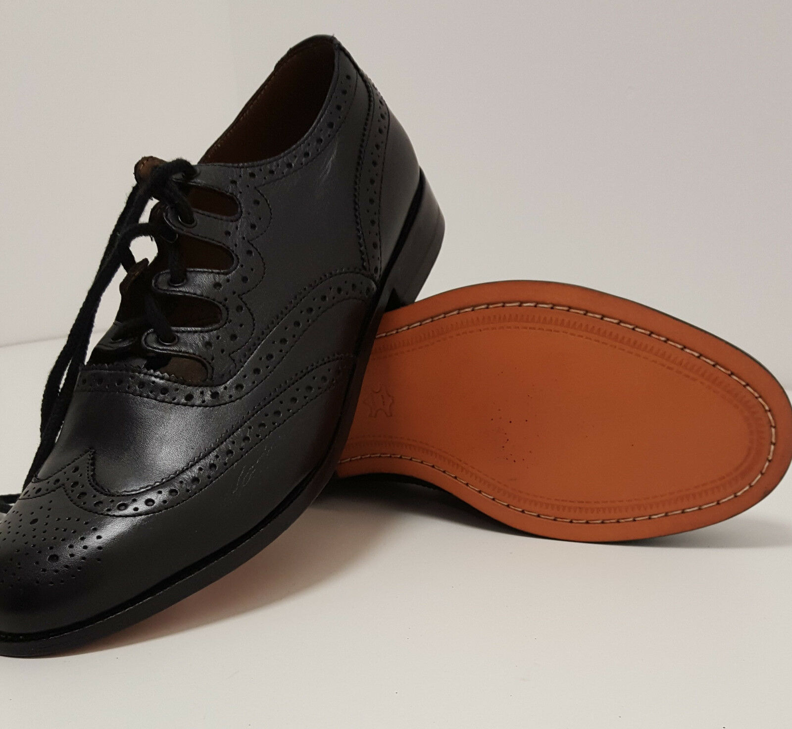 "Deluxe  All Leather Scottish Ghillie Kilt Leather Brogues Shoes ""48 HOUR SALE"""