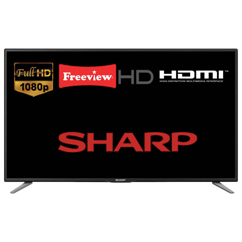 sharp lc 49cff5001k 49 led tv full hd 1080p with freeview. Black Bedroom Furniture Sets. Home Design Ideas