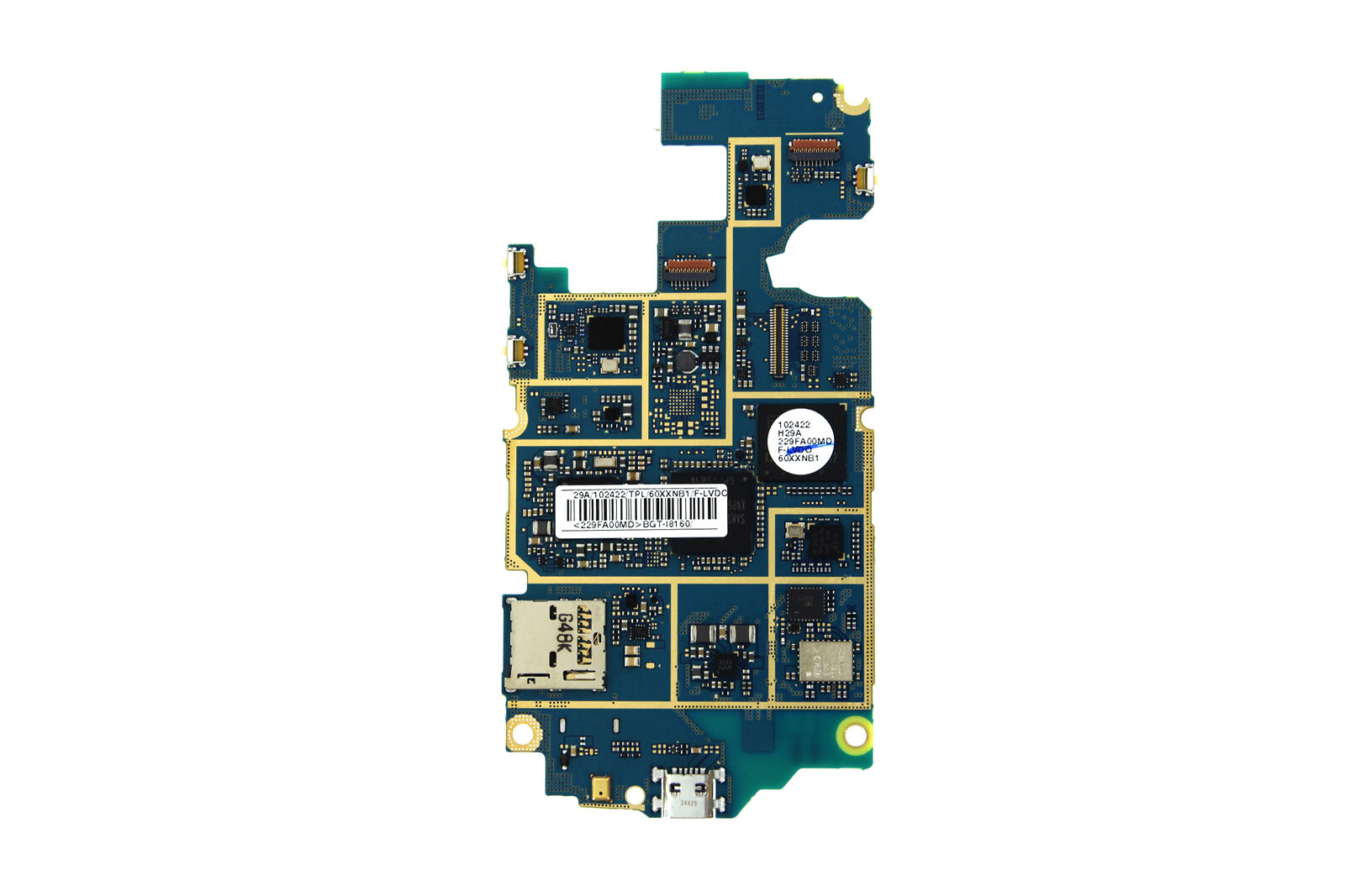 Genuine Samsung Galaxy Ace 2 I8160 Motherboard Gh82 06463a 495 V G313 Dual Sim 1 Of 1only 0 Available