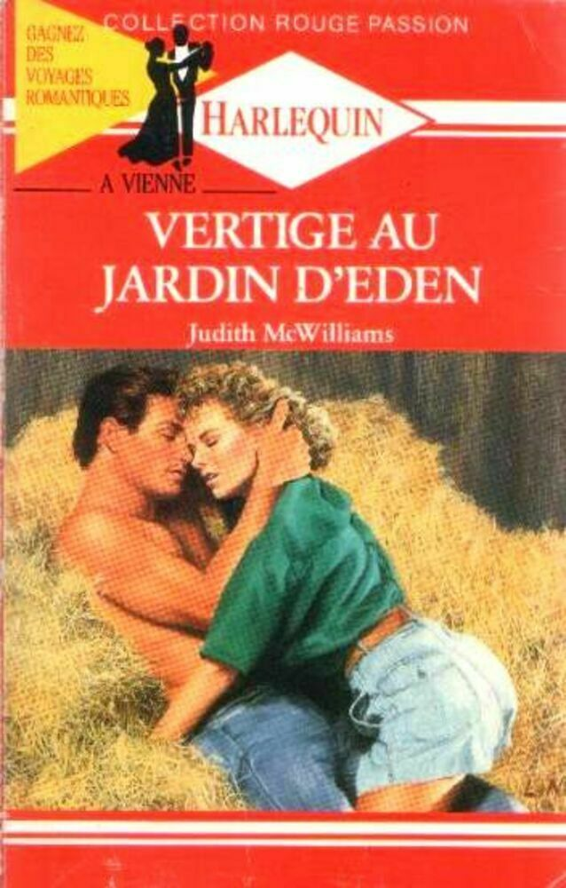 Vertige au jardin d'Eden - Judith McWilliams - Rouge passion