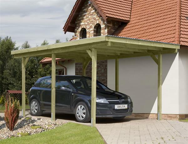 carport einzelcarport kdi mit pvc dach 300x500cm eur 264 18 picclick de. Black Bedroom Furniture Sets. Home Design Ideas