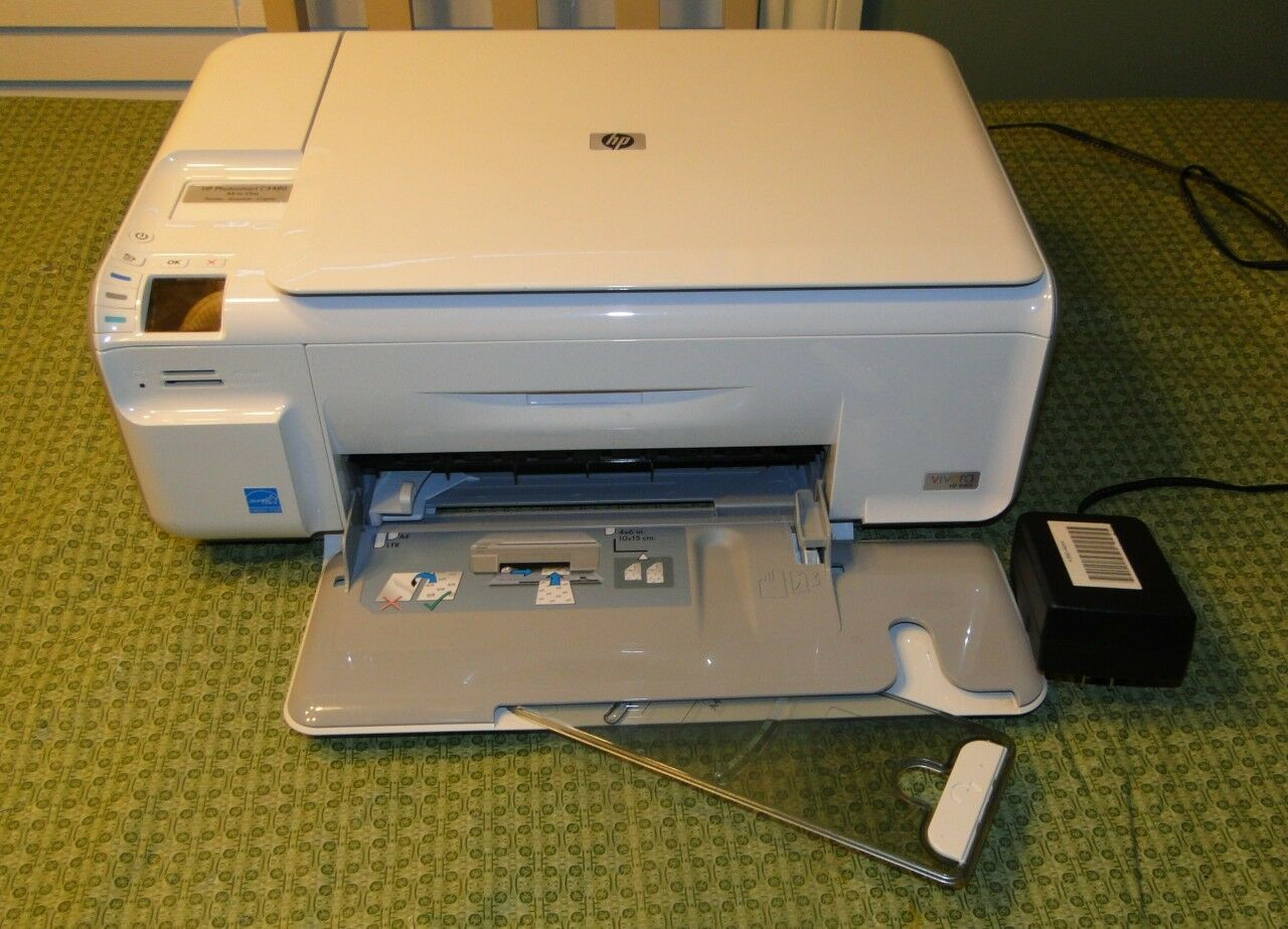 HP Photosmart C4480 All-In-One Inkjet Printer 1 of 1FREE Shipping ...