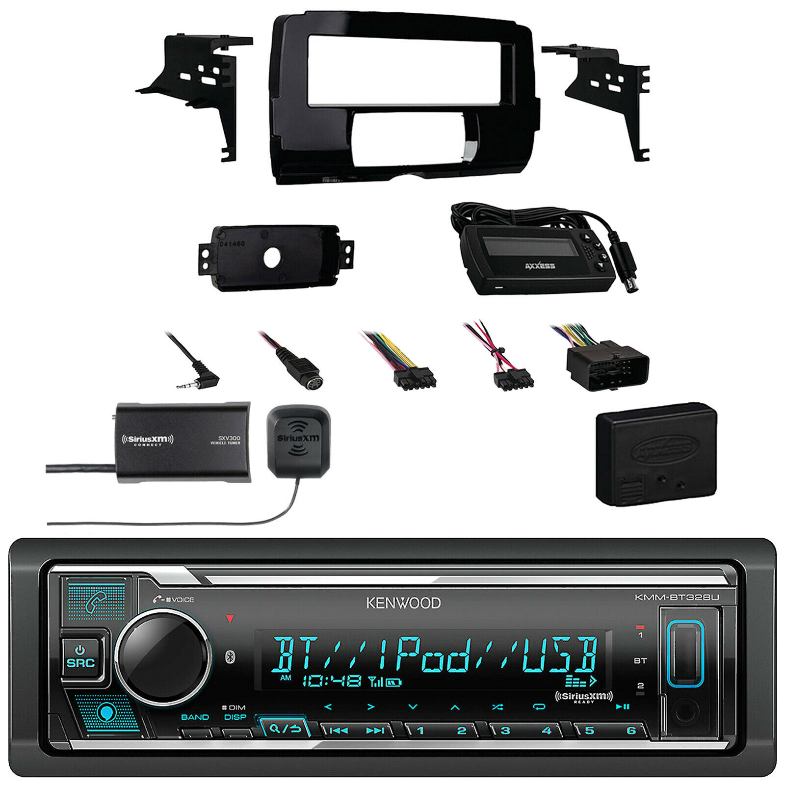 2014 15 Harley Install Adapter Dash Kitradioamp65speakers Pbr 300x4 4 Ohm Wiring Diagram 1 Of 1only 3 Available