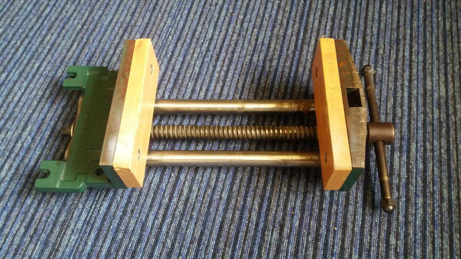 """Large Woodworking Bench Vice 7"""" Wide • £27.00 - PicClick UK"""