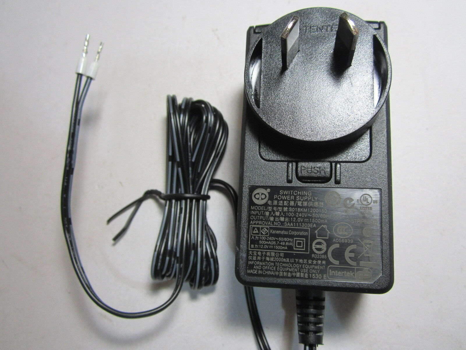 Aus 120v 12v 15a 1500ma Ac Dc Switching Power Supply Adaptor 2 Wiring 12 Volt To 1 Of 4free Shipping