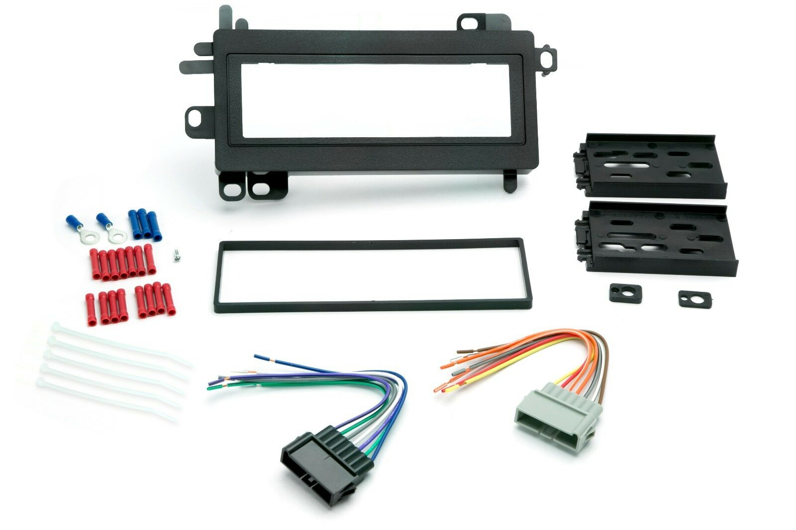 Dash Kit For Dodge Ram Single Din Radio Stereo Install W Wire Wiring Harness 1 Of 1free Shipping See More