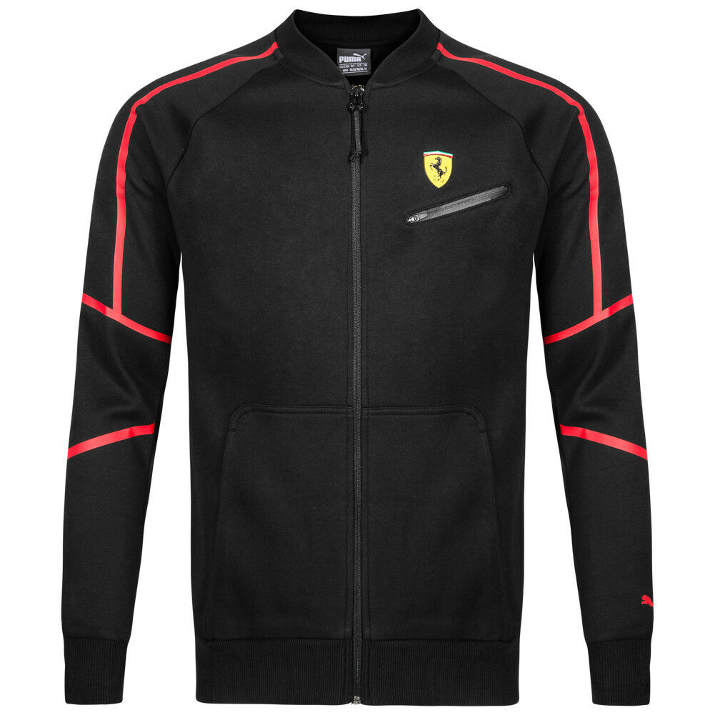 puma sf scuderia ferrari herren sweatshirt jacke full zip. Black Bedroom Furniture Sets. Home Design Ideas