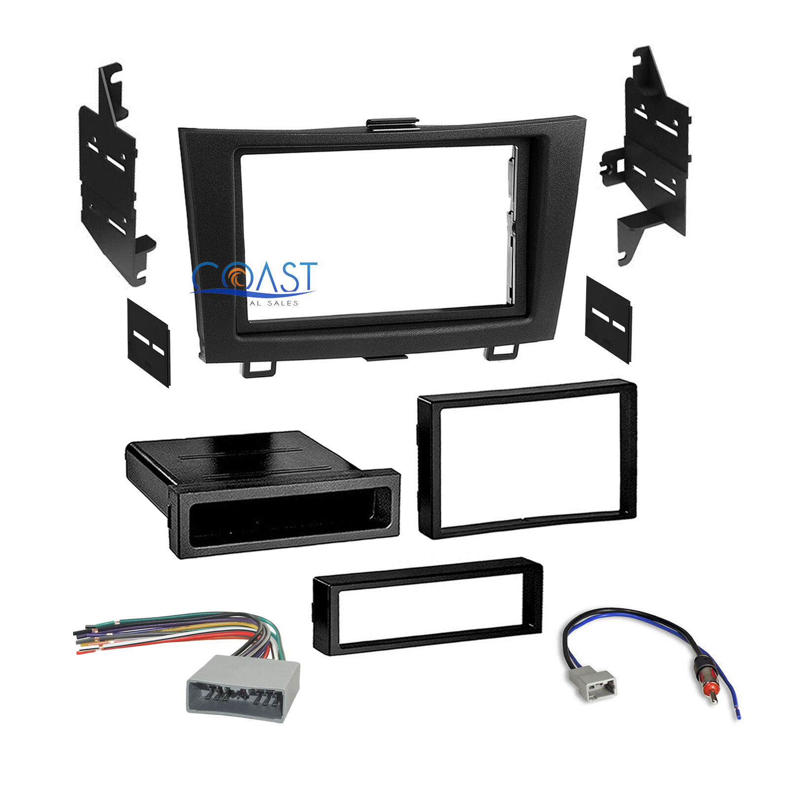 Car Radio Stereo Single 2din Dash Kit Wire Harness For 2007 2011 Honda Crv Wiring Cr 1 Of 4free Shipping See More