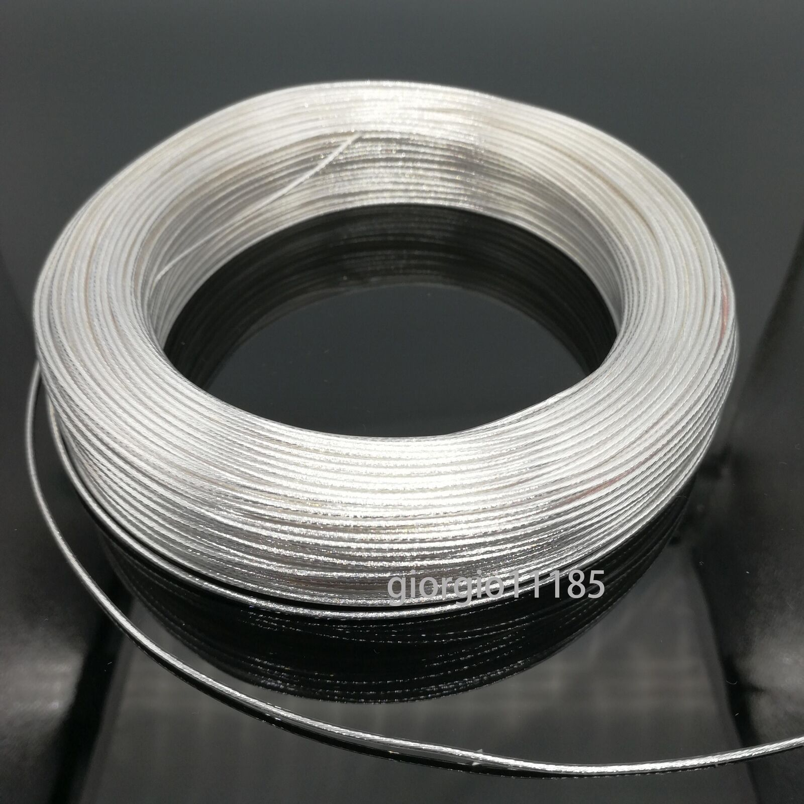 US STOCK 40 Feet 26 AWG High Temperature Teflon PTFE Silver Plated ...