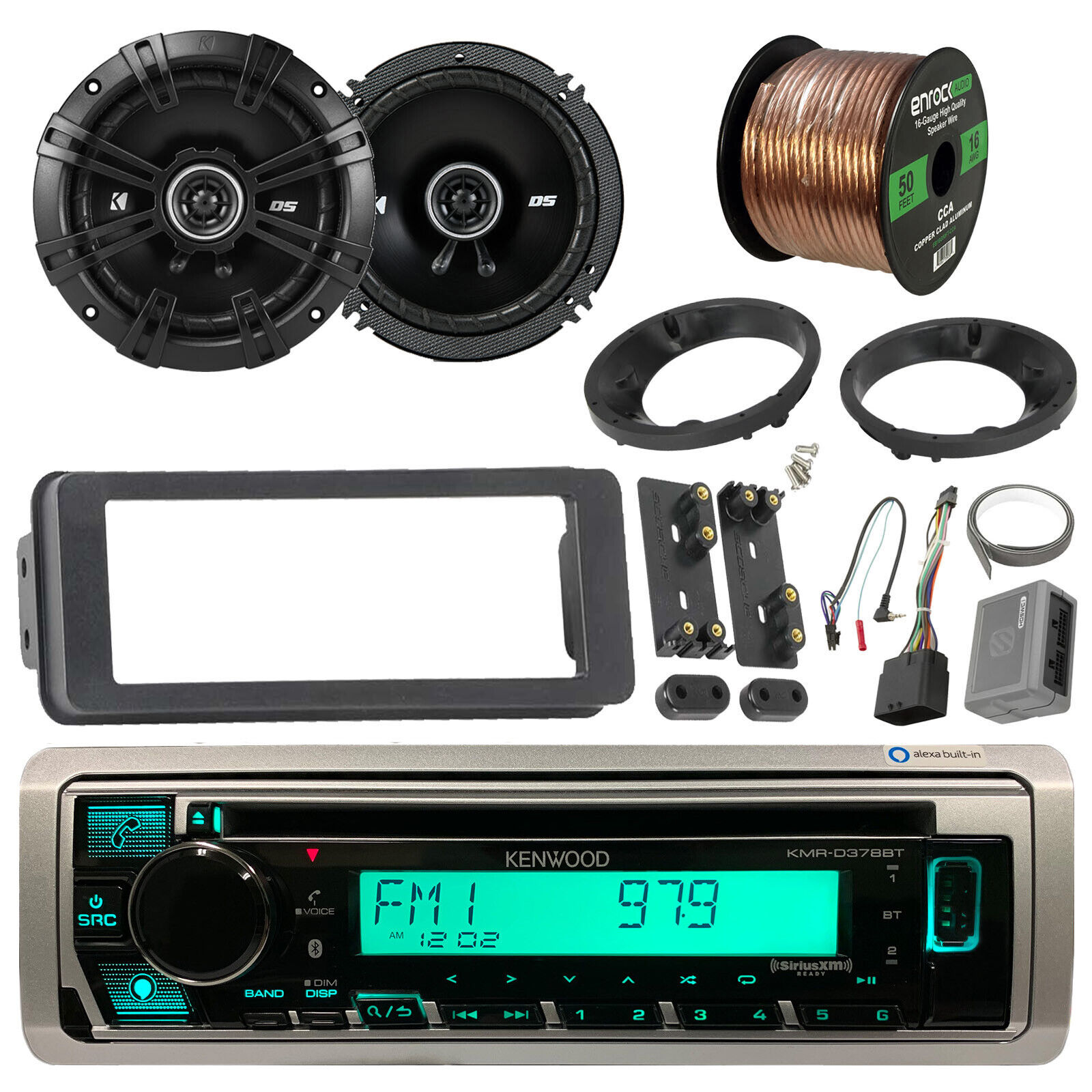 Kenwood Bluetooth Cd Radioscosche Install Harley Kit65 Speakers Harman Kardon Wiring Diagram 76160 06 1 Of 8only 4 Available