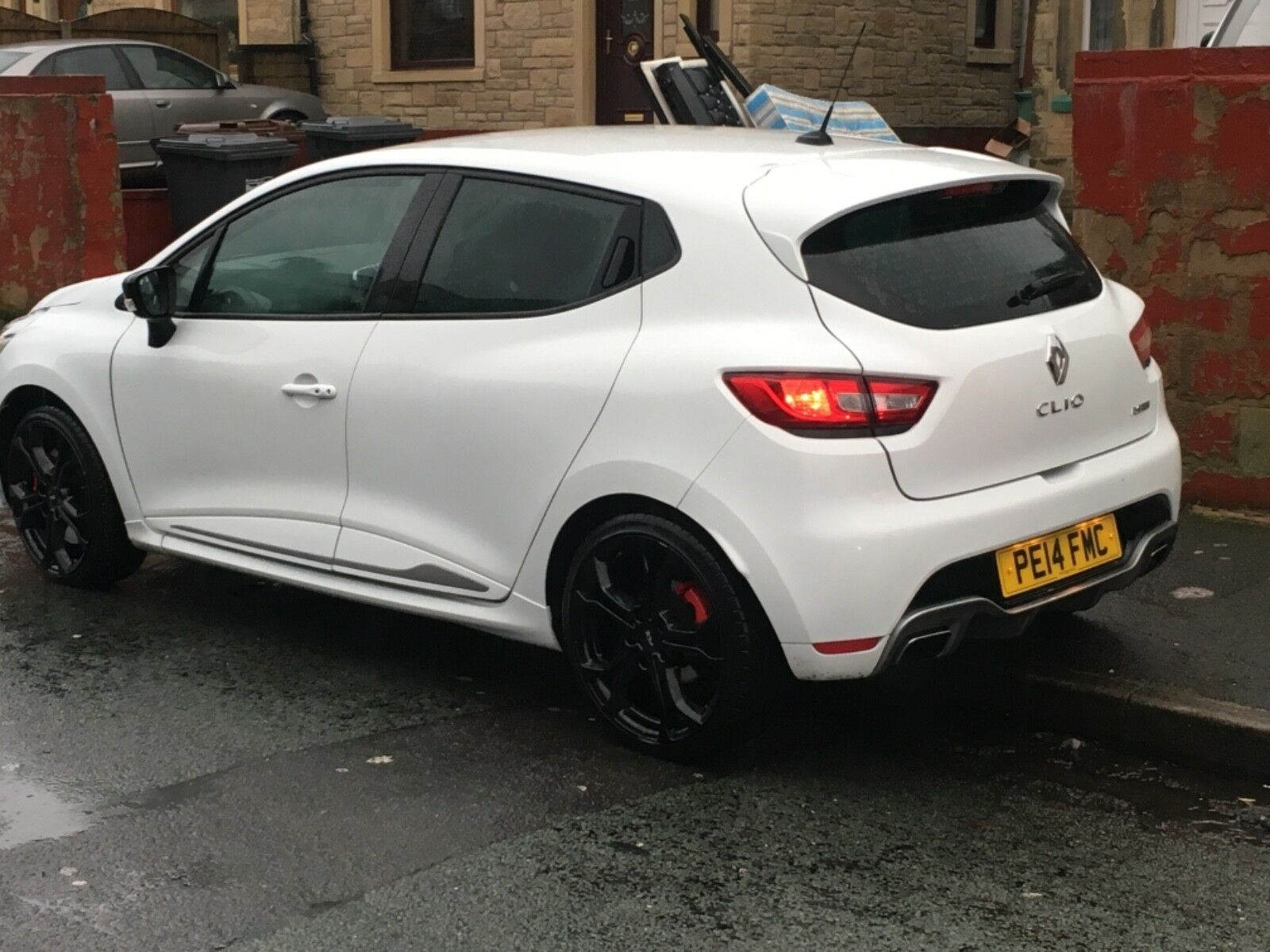2014 renault clio rs 5dr lux edc 200bhp auto satnav 1 6 turbo px swap swop 7 picclick uk. Black Bedroom Furniture Sets. Home Design Ideas