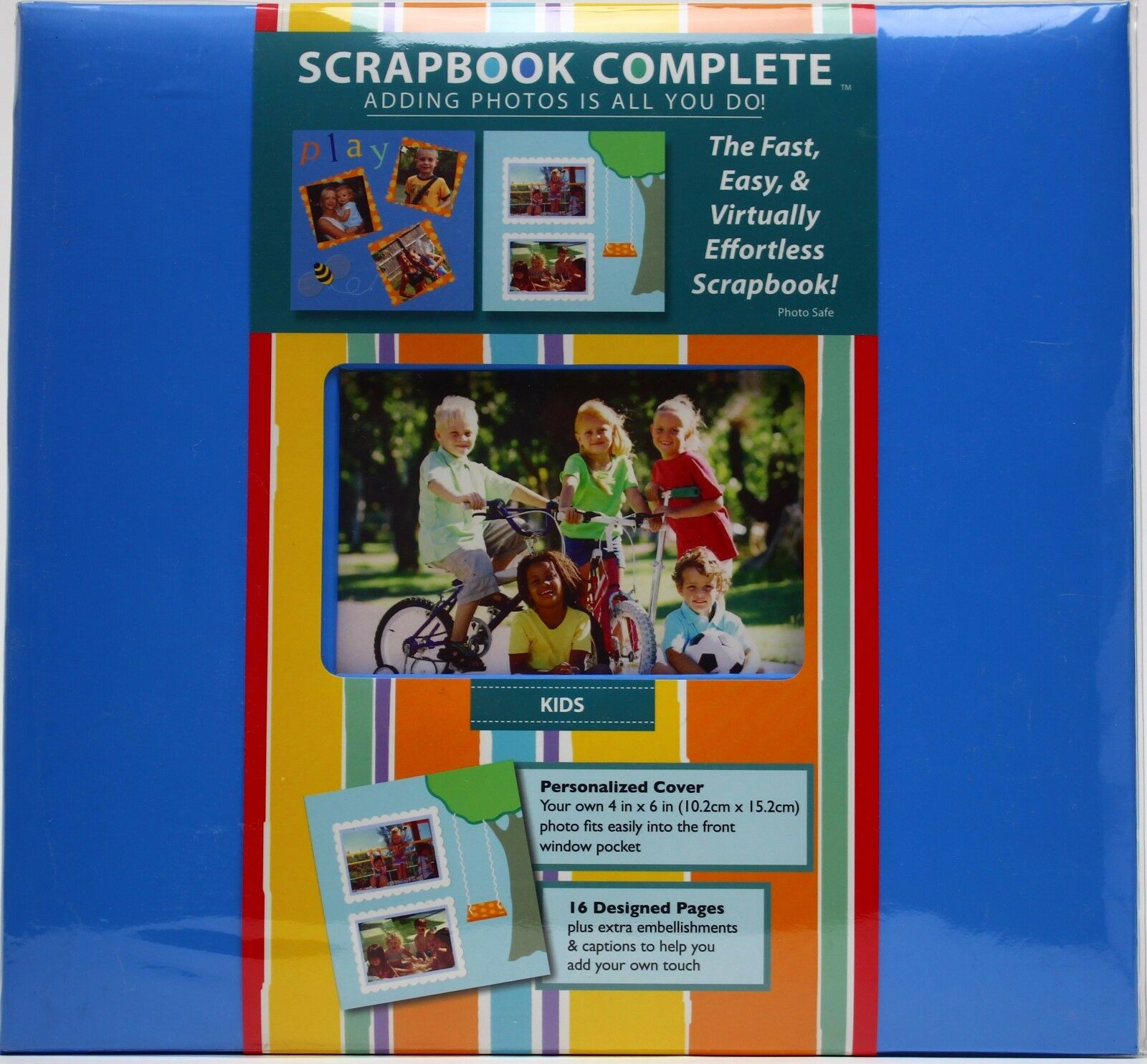Tapestry By Cr Gibson 12 X 12 Kids Scrapbook Complete 16 Designed