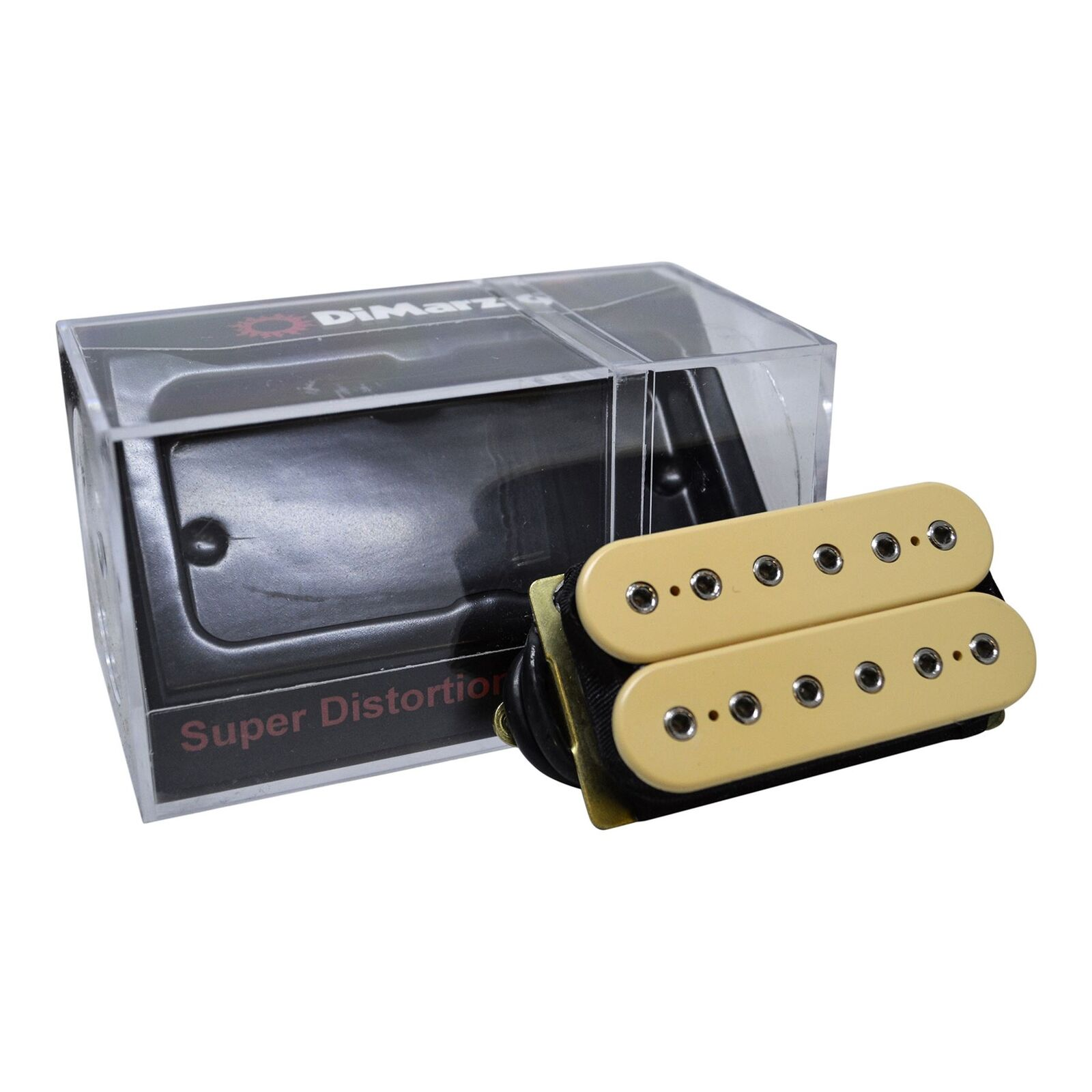 Dimarzio Super Distortion Humbucker Guitar Pickup Cream 7799 Hot Wire Wiring 1 Of 6only 2 Available