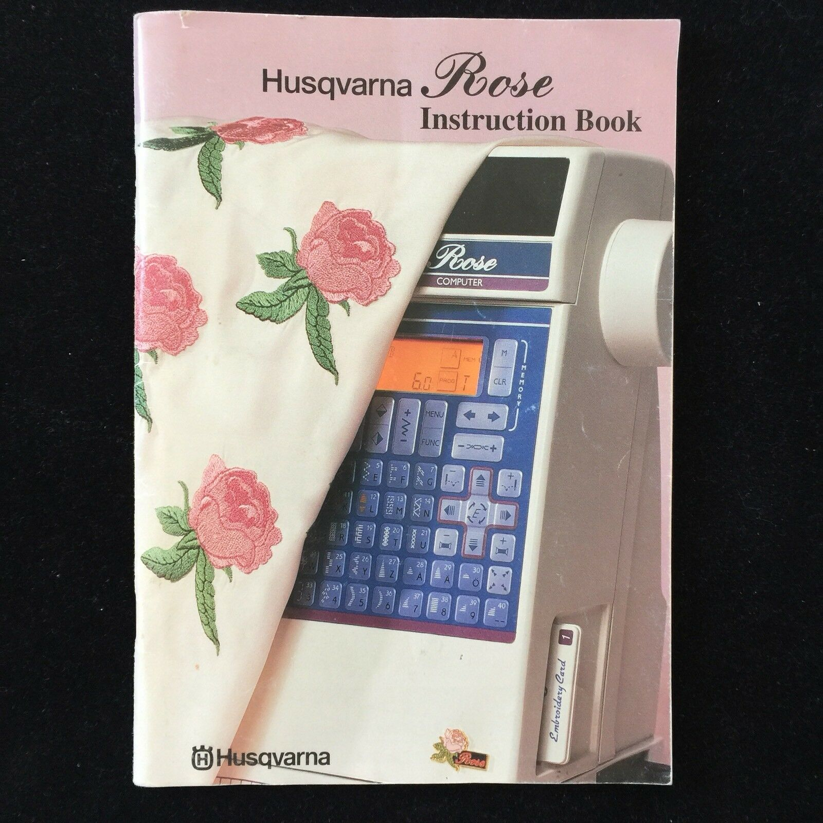Husqvarna Viking Instruction Book Manual for Rose Sewing Embroidery Machine  1 of 5Only 2 available ...