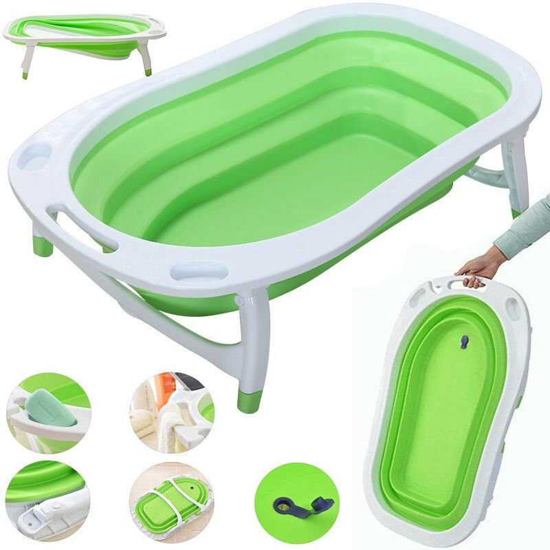ISAFE FLAT FOLDABLE Recline New Born Baby Bath - LIME - £25.95 ...