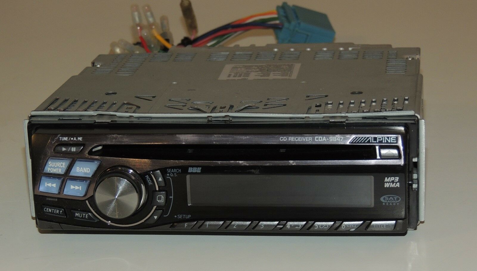 alpine cda 9847 cd player detachable face stereo $65 00 picclick alpine cda  9851 wiring installation