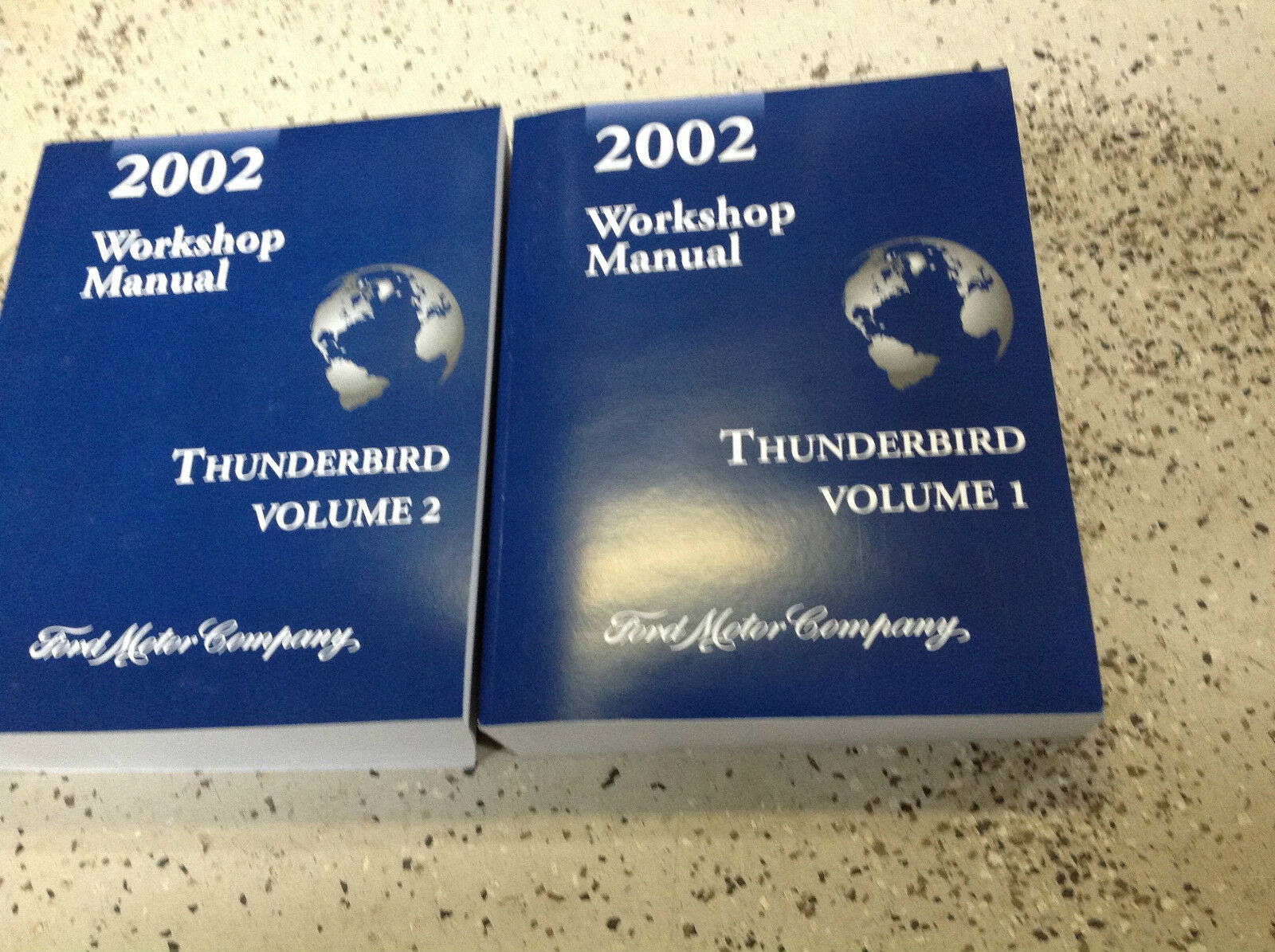 2002 Ford Thunderbird Service Repair Shop Workshop Manual Set BRAND NEW 1  of 8 See More