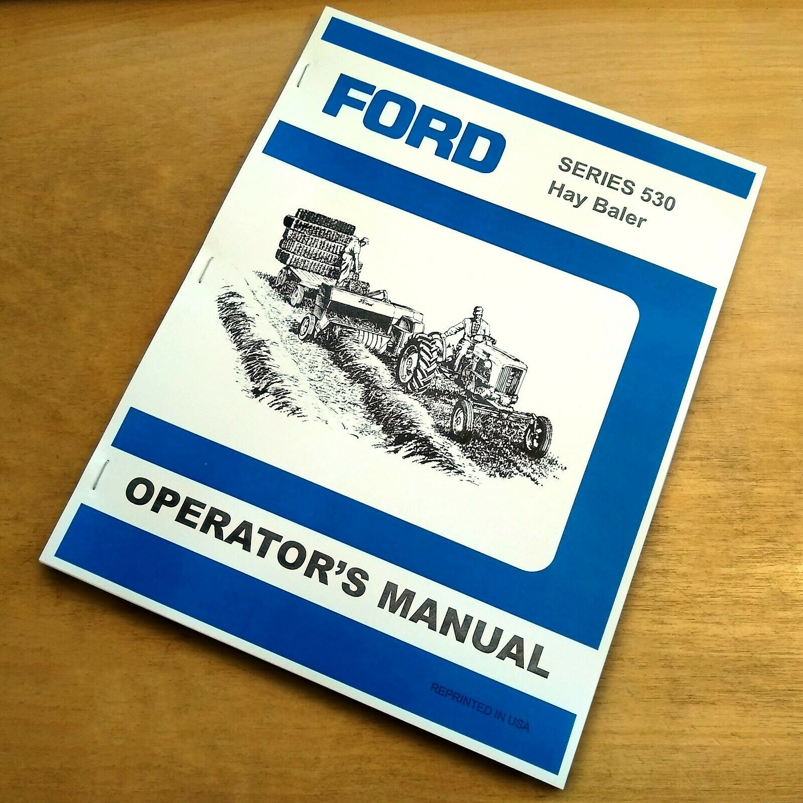Ford 530 Hay Baler Operator's Owners Book Guide Manual 1 of 6FREE Shipping  ...