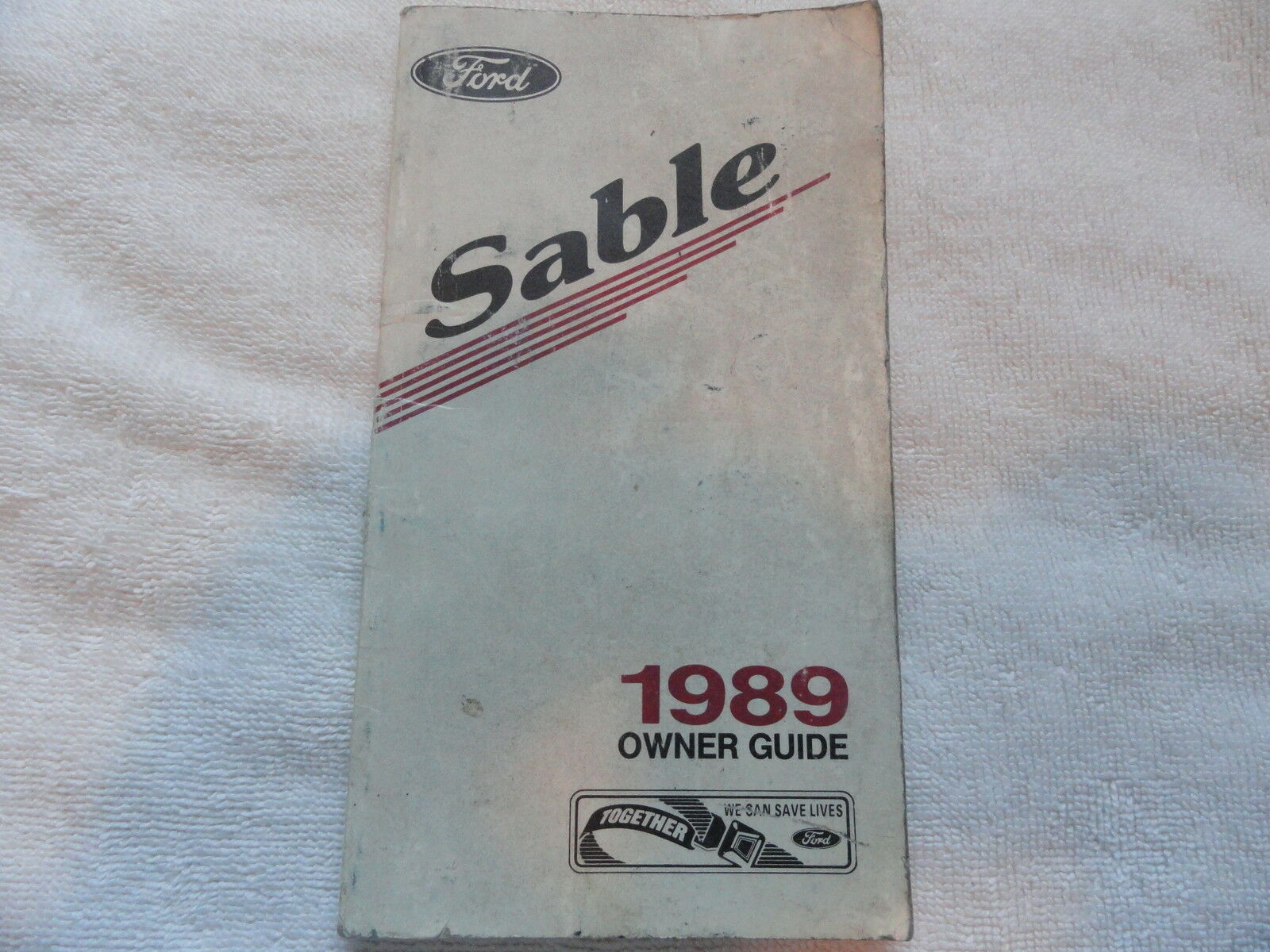 1989 Mercury Sable Owners Manual 1 of 1Only 2 available ...