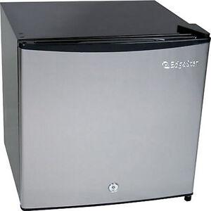 Stainless Steel Mini Freezer Refrigerator Compact Fridge w