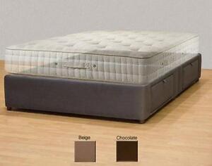 Tiffany 4drawer California King Platform Bed Storage Mattress Box