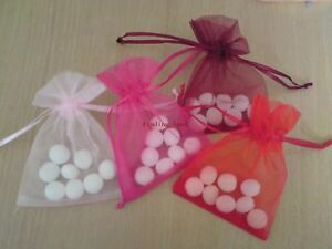 Luxury Organza Wedding Favor Bags 7 sizes Any colours eBay