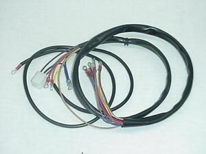 New 19731974 XLCH HarleyDavidson Main Wiring Harness eBay