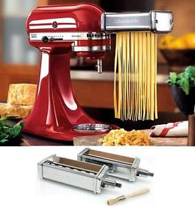 Kitchenaid Kpca 2pc Stainles Steel Pasta Angel Hair Cuter