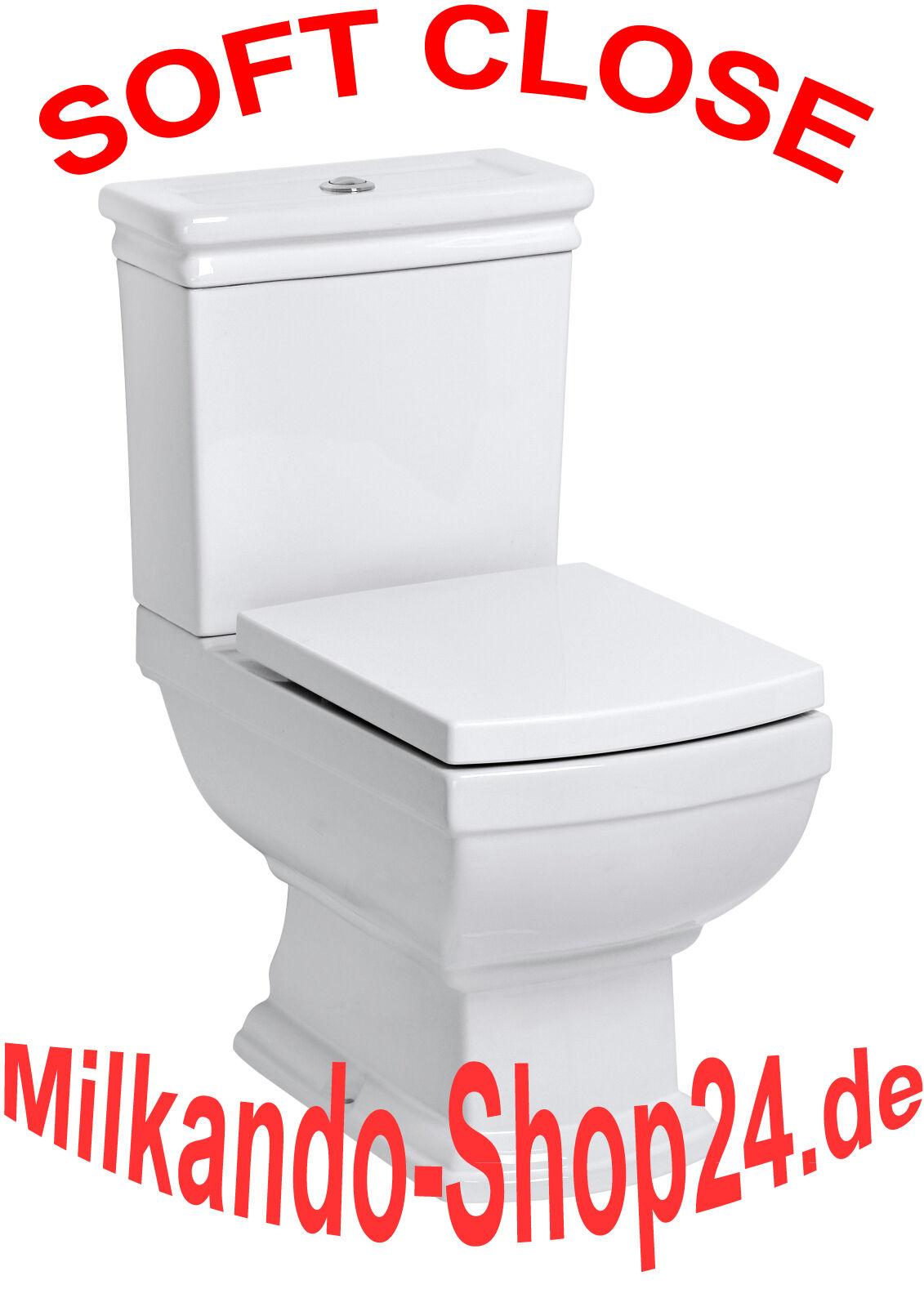 nostalgie retro classic wc toilette stand komplett set mit. Black Bedroom Furniture Sets. Home Design Ideas