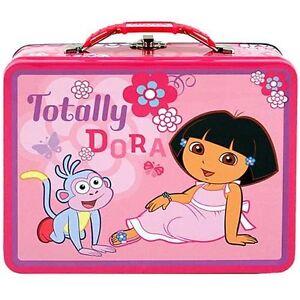 Dora The Explorer Tin Lunch Box Gift Bag Trinket Keepsake Jewelry