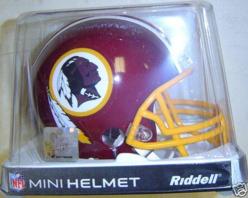 Washington Redskins Riddell NFL Football Team Mini Helmet New in Factory Box