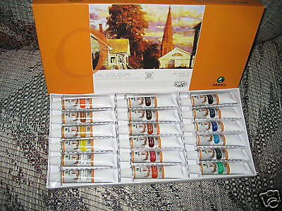 * Maries 18 Piece Oil Paint Set Art Supplies Marie's *