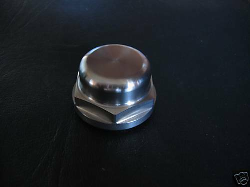 BMW BOXER STAINLESS STEEL TOP YOKE NUT  WITHOUT HOLE