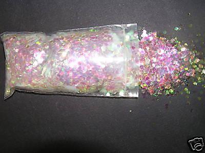 Crystalina #322 Iridescent Crafts Party Wedding Confetti Glitter 8oz. / 1/2 Lb