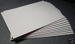 Buchbinderpappe / Buchdeckel 2,5 mm für DIN A5 10 Stück