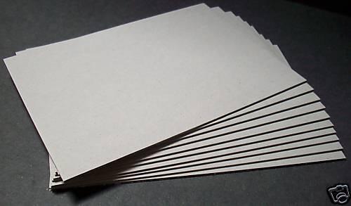 Buchbinderpappe / Buchdeckel 3,0 mm für DIN A5 10 Stück