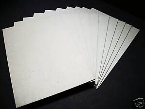 Buchbinder-Pappe-/Graupappe-3,0 mm für DIN A4 10 Stück