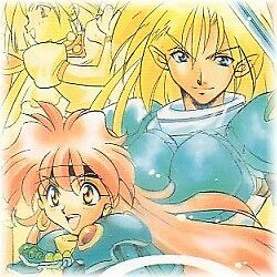 "Slayers Doujinshi "" ONE "" Lina Xellos Amelia Gourry"