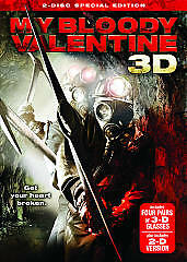 My Bloody Valentine (DVD, 2009, 2-Disc Set, Canadian Special Edition; 2D & 3D...