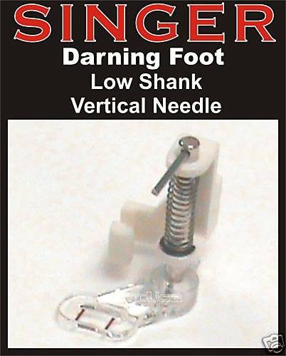 FREE MOTION DARNING QUILTING FOOT Fit SINGER 160 Limited Edition L-500