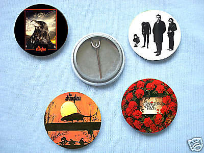 The Stranglers-Set Of Four Badges Sex Pistols