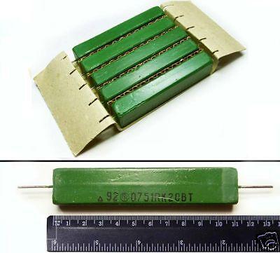 6x  24 Ohm 20 Watt Non-inductive Load Power Resistor NEW